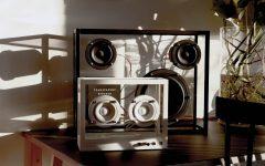 Small Transparant Speaker