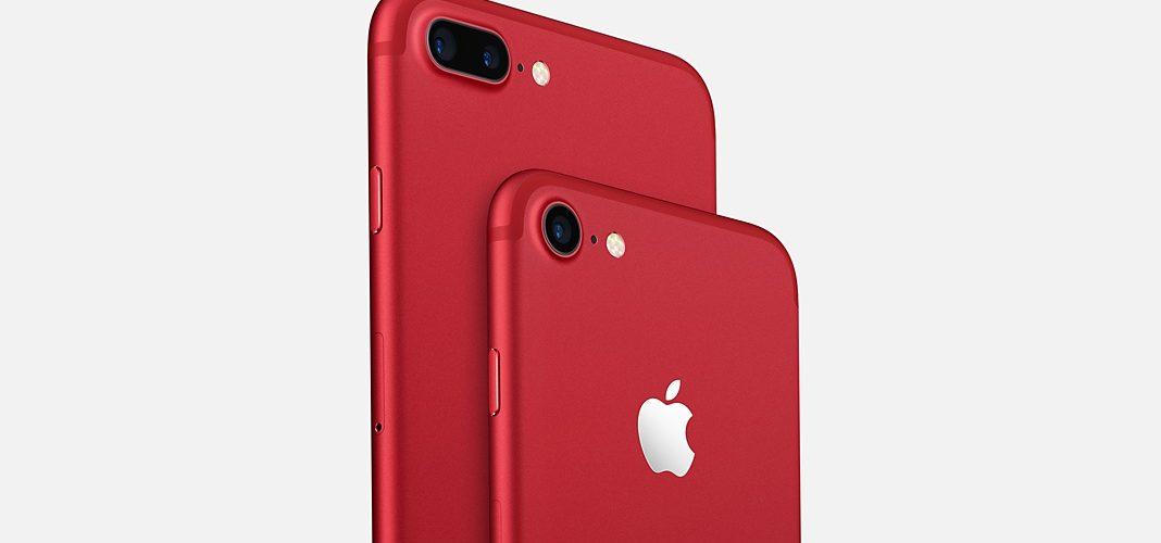 knalrode iPhone