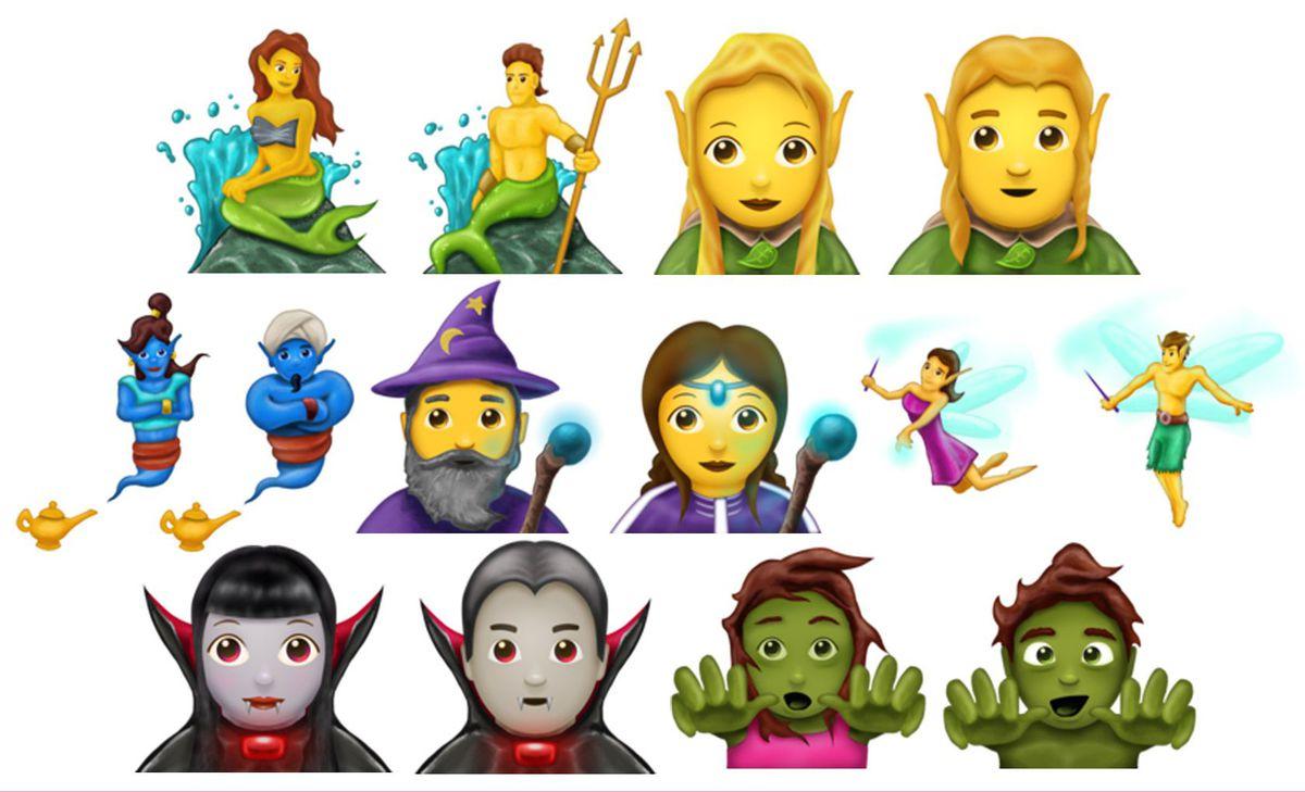 mytische emoji